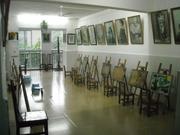 乐山千里马画室教学环境12